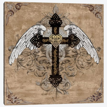 Cross I Canvas Print #BGL2} by Brandon Glover Canvas Print