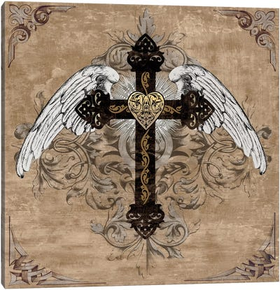 Cross I Canvas Art Print