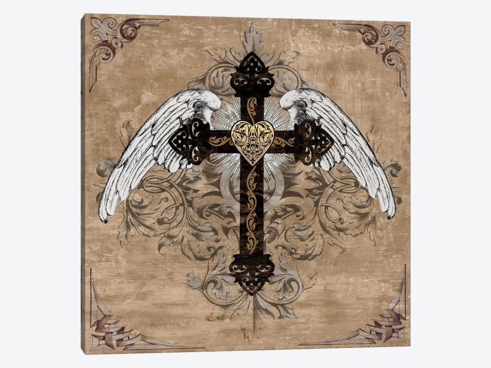 Cross I by Brandon Glover 1-piece Canvas Artwork