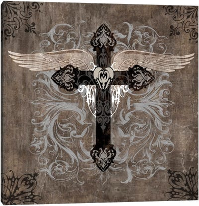 Cross II Canvas Art Print