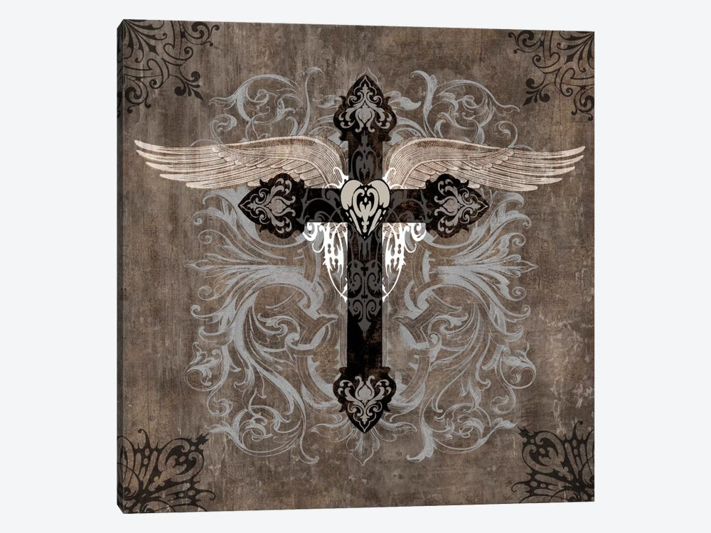 Cross II by Brandon Glover 1-piece Canvas Art Print
