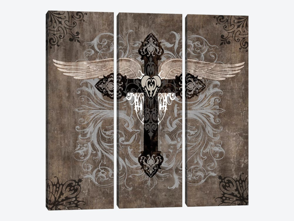 Cross II by Brandon Glover 3-piece Art Print
