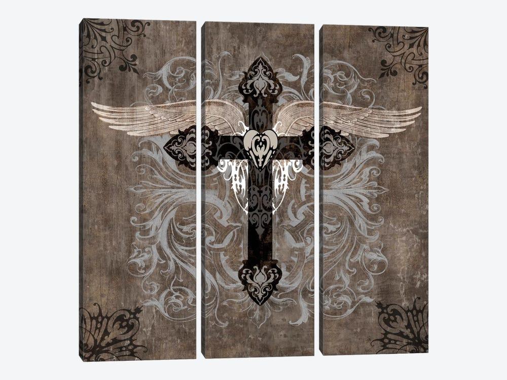Cross II by Brandon Glover 3-piece Art Print