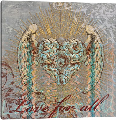 Love for All Canvas Print #BGL6