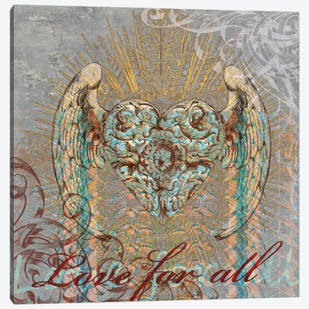 Love for All Canvas Print #BGL6} by Brandon Glover Canvas Artwork