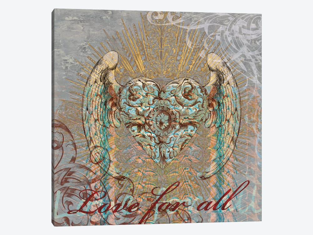 Love for All by Brandon Glover 1-piece Canvas Wall Art