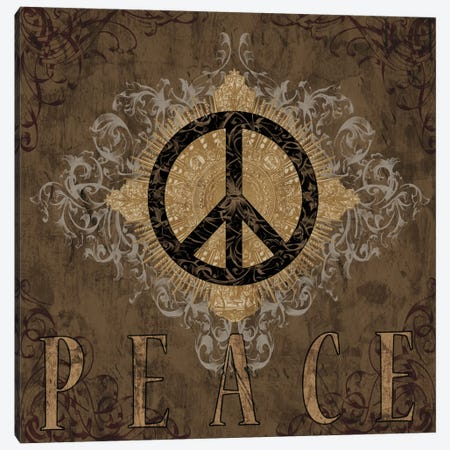 Peace Canvas Print #BGL7} by Brandon Glover Canvas Art