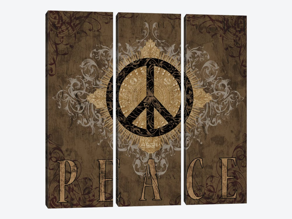 Peace by Brandon Glover 3-piece Canvas Print