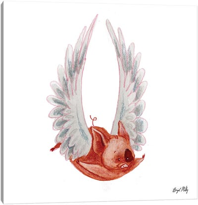 Flying Pig II Canvas Art Print