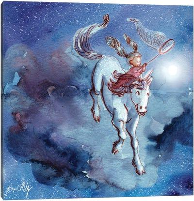 Catching Stars Canvas Art Print