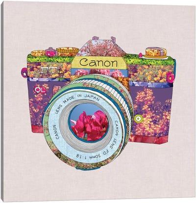 Floral Canon Canvas Art Print