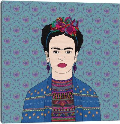 Frida Kahlo Canvas Print #BGR13