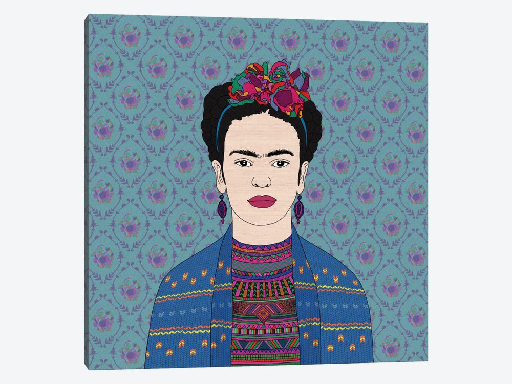 Frida Kahlo by Bianca Green 1-piece Canvas Artwork