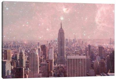 Stardust Covering New York Canvas Print #BGR23