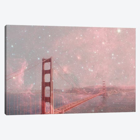 Stardust Covering San Francisco Canvas Print #BGR24} by Bianca Green Canvas Art Print