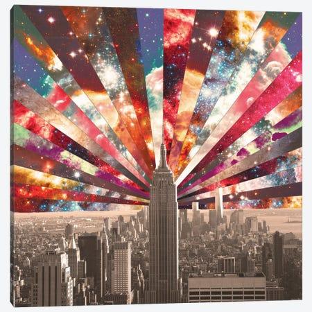 Superstar New York Canvas Print #BGR25} by Bianca Green Canvas Art Print