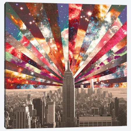 Superstar New York Canvas Print #BGR25} by Bianca Green Canvas Art Print