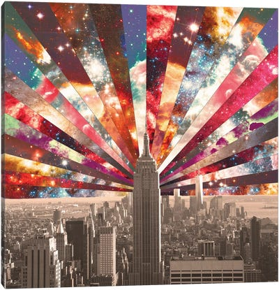 Superstar New York Canvas Art Print