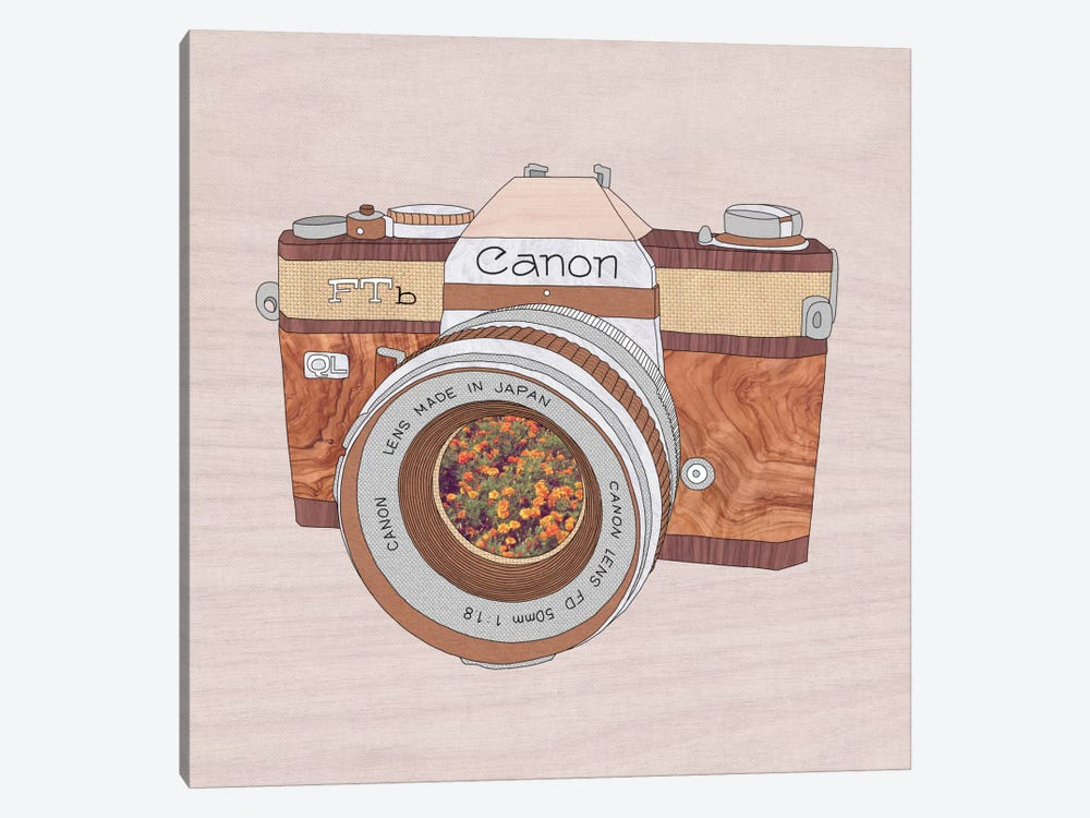 Wood Canon by Bianca Green 1-piece Canvas Print
