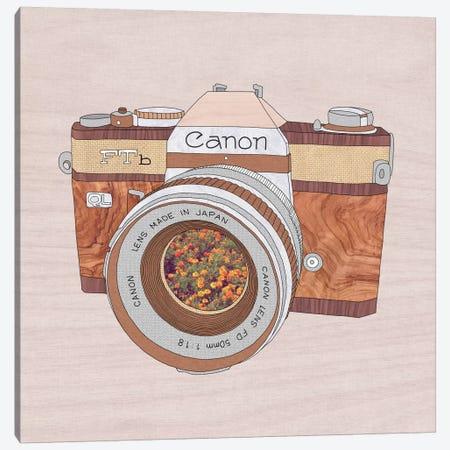 Wood Canon Canvas Print #BGR29} by Bianca Green Canvas Art