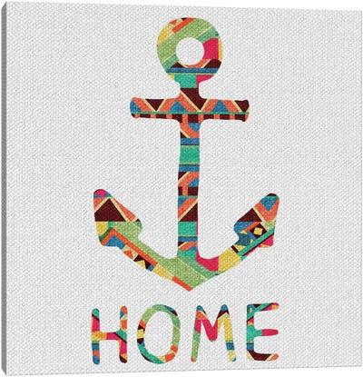 You Make Me Home Canvas Art Print