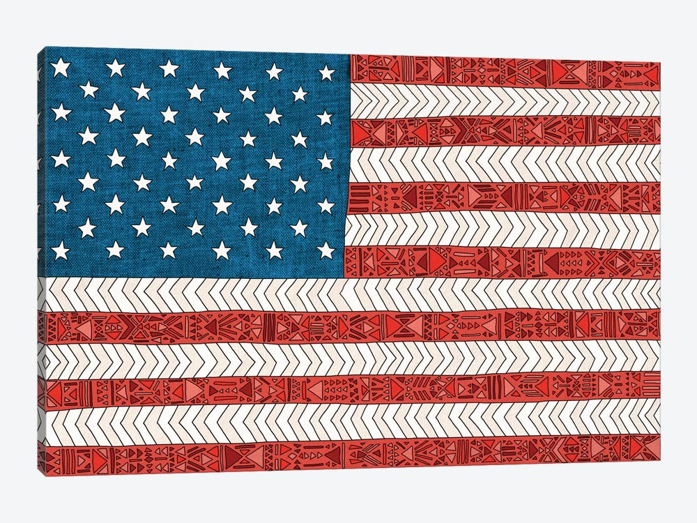 USA by Bianca Green 1-piece Canvas Artwork
