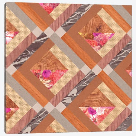 Cubed Canvas Print #BGR42} by Bianca Green Canvas Wall Art