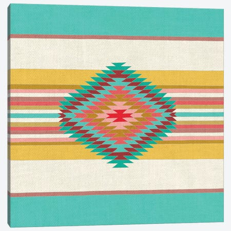 Fiesta Canvas Print #BGR43} by Bianca Green Canvas Wall Art