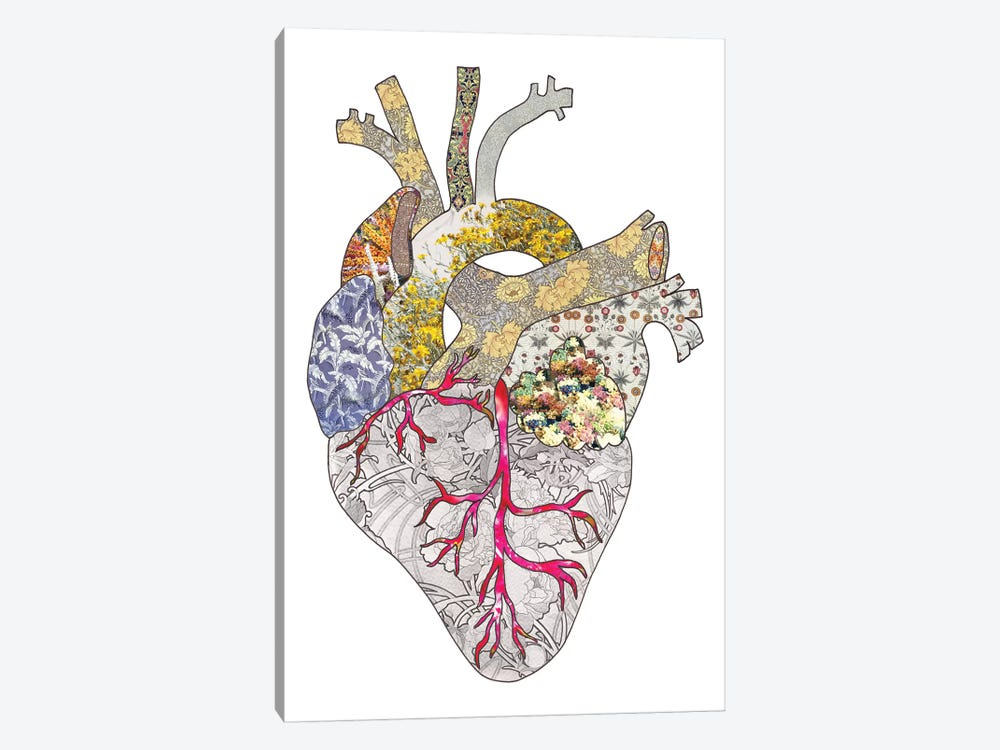My Heart Is Real by Bianca Green 1-piece Art Print