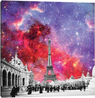 Nebula Vintage Paris Canvas Art Print