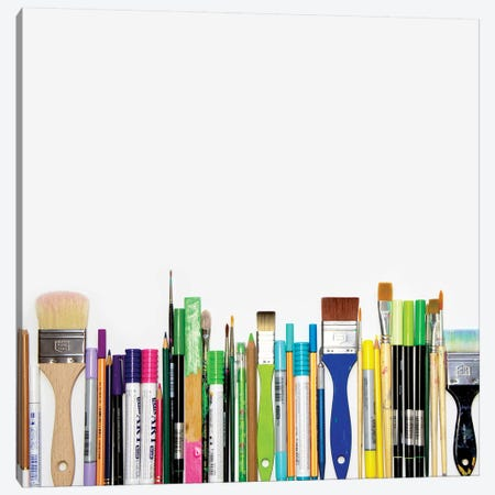Real Weapons Of Mass Creation Canvas Print #BGR49} by Bianca Green Canvas Art