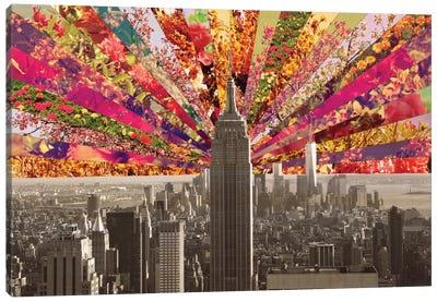 Blooming New York Canvas Art Print