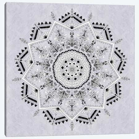Star Mandala Canvas Print #BGR50} by Bianca Green Canvas Art Print