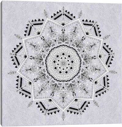 Star Mandala Canvas Art Print