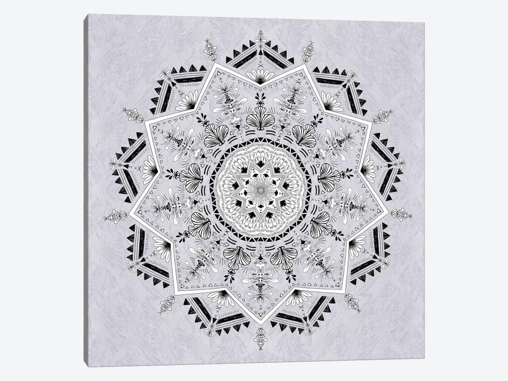 Star Mandala by Bianca Green 1-piece Canvas Print