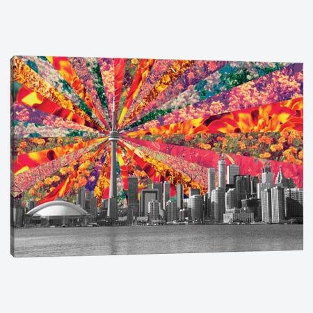 Blooming Toronto Canvas Print #BGR5} by Bianca Green Canvas Print