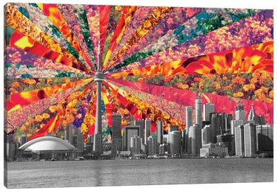 Blooming Toronto Canvas Art Print