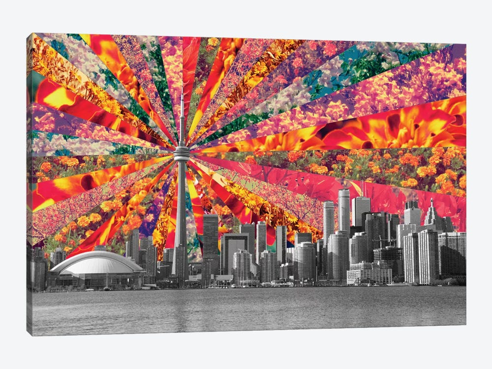 Blooming Toronto by Bianca Green 1-piece Canvas Art Print