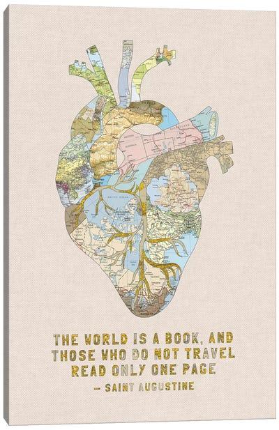 A Travelers Heart III Canvas Art Print