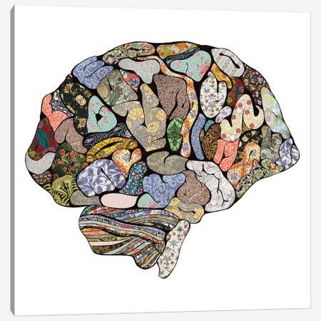 My Brain Looks Different 3-Piece Canvas #BGR66} by Bianca Green Canvas Print