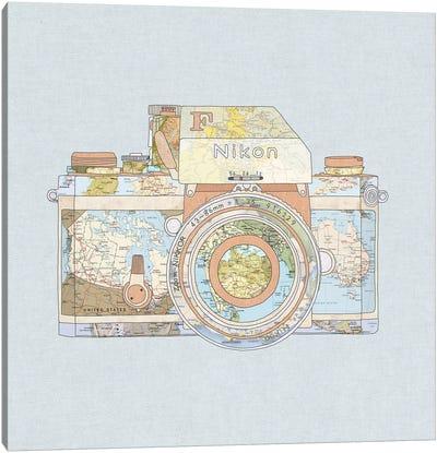 Travel Nikon Canvas Art Print