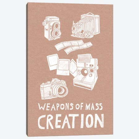 Weapons Of Mass Creation - Photography Canvas Print #BGR69} by Bianca Green Canvas Wall Art