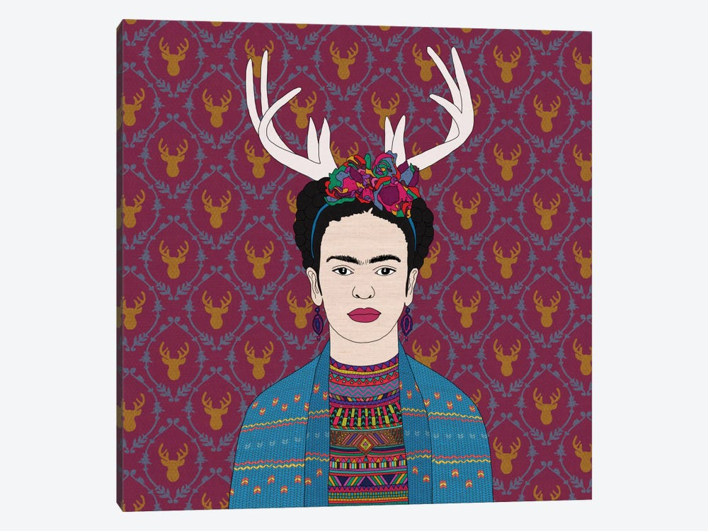Deer Frida 1-piece Art Print