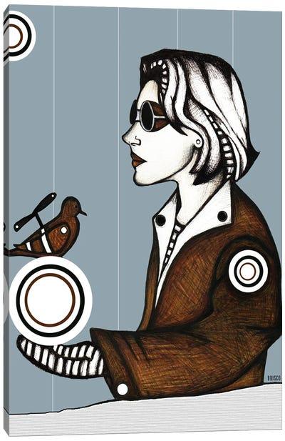 Steampunk Blues Canvas Art Print