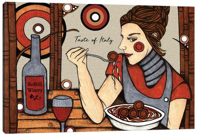 Taste Of Italy Canvas Art Print