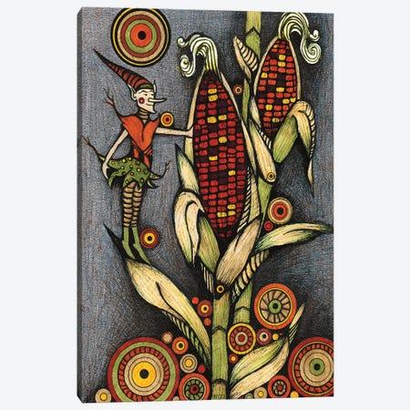 The Corn Sprite Canvas Print #BGT21} by Bridgett Scott Canvas Wall Art