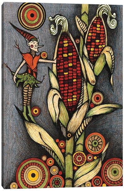 The Corn Sprite Canvas Art Print