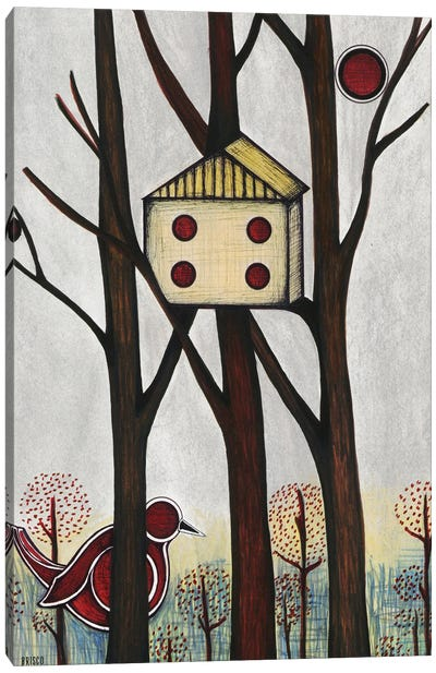 The Hiding Place Canvas Art Print