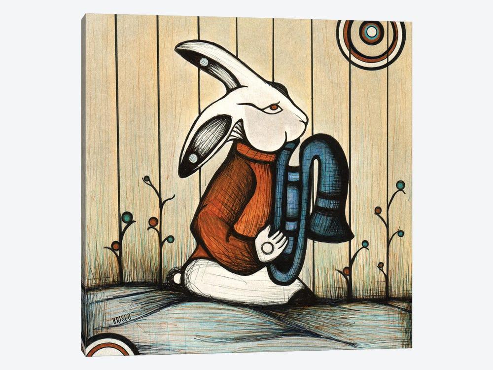 The Horn Player by Bridgett Scott 1-piece Canvas Print