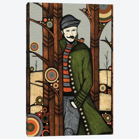 The Jacket Canvas Print #BGT26} by Bridgett Scott Canvas Print